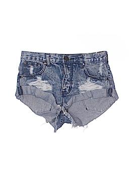 TOBI Denim Shorts Size 0