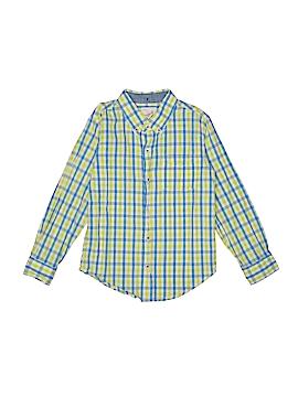 Peek... Long Sleeve Button-Down Shirt Size L (Kids)