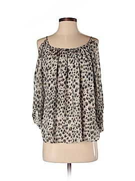 Charlie Jade 3/4 Sleeve Silk Top Size XS
