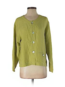 Chico's Design Silk Blazer Size Sm (0)