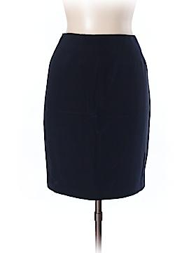 Linda Allard Ellen Tracy Silk Skirt Size 14 (Petite)