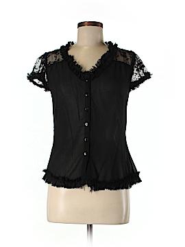Pinky Short Sleeve Blouse Size M