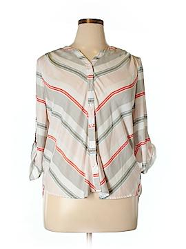 BB Dakota Long Sleeve Blouse Size 1X (Plus)