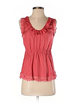 Odille Sleeveless Silk Top Size 2