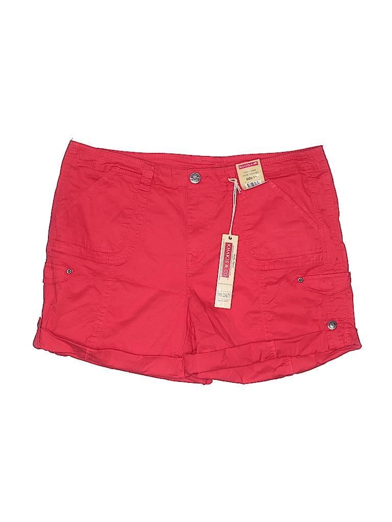 Khakis & Co Women Khaki Shorts Size 14