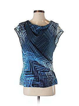 BOSS by HUGO BOSS Short Sleeve Silk Top Size 4