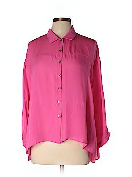 MYNE 3/4 Sleeve Silk Top Size 4