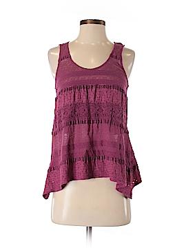 Pink Lotus Sleeveless Blouse Size S