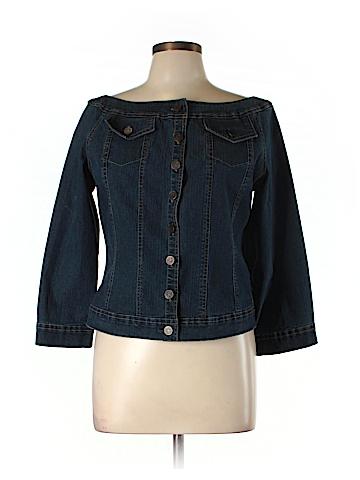 Soft Surroundings Denim Jacket Size L