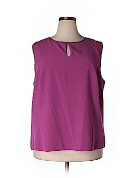 Enlo Sleeveless Blouse Size 18 W (Plus)