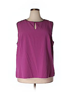 Enlo Sleeveless Blouse Size 20 (Plus)