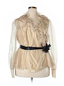 Chetta B Long Sleeve Blouse Size 18 (Plus)
