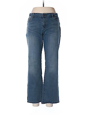 New York & Company Jeans Size 16 (Petite)