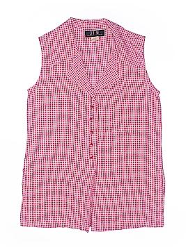 JFW Sleeveless Button-Down Shirt Size S