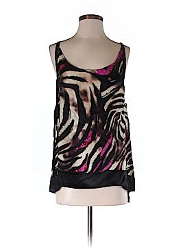 Jaloux Sleeveless Silk Top Size M