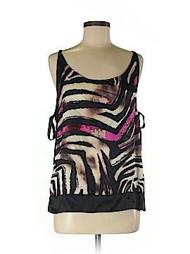 Jaloux Sleeveless Silk Top Size S