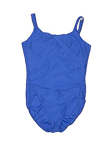 Lands' End One Piece Swimsuit Size 14 (Petite)