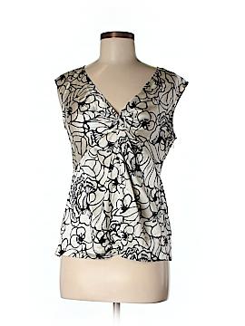 INC International Concepts Sleeveless Silk Top Size 6