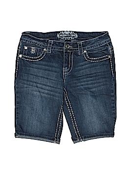 Paisley Sky Denim Shorts Size 2