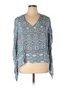 BB Dakota 3/4 Sleeve Blouse Size 1X (Plus)