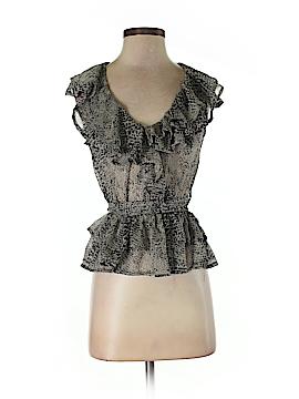 Fashion Web Short Sleeve Blouse Size S