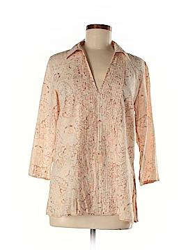 Hillard & Hanson 3/4 Sleeve Blouse Size M
