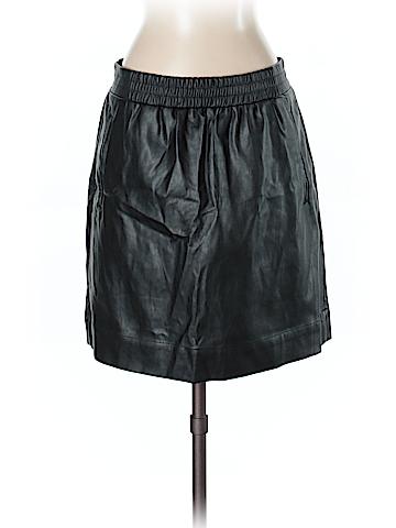 Ann Taylor LOFT Faux Leather Skirt Size S