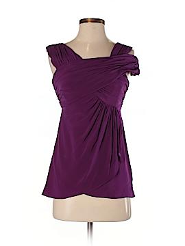 Nicole Miller Sleeveless Silk Top Size 0