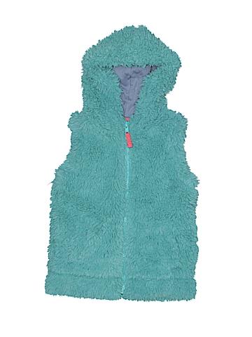 Mini Boden Faux Fur Vest Size 2 - 3