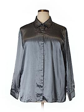 Maggie McNaughton Long Sleeve Blouse Size 18w (Plus)