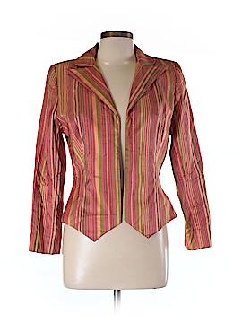 Flores & Flores Silk Blazer Size 10