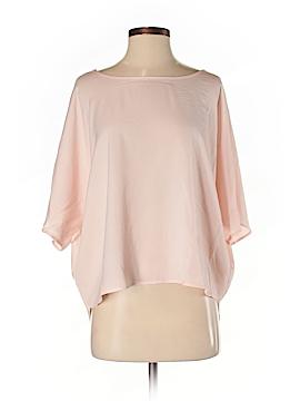 Blaque Label 3/4 Sleeve Button-Down Shirt Size S