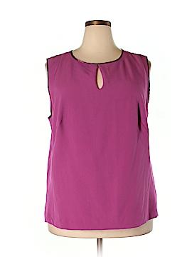Enlo Sleeveless Blouse Size 20W (Plus)