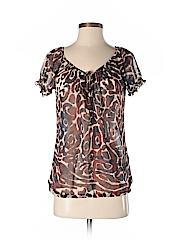 Esprit Women Short Sleeve Blouse Size 4