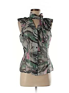 Emporio Armani Short Sleeve Button-Down Shirt Size 10