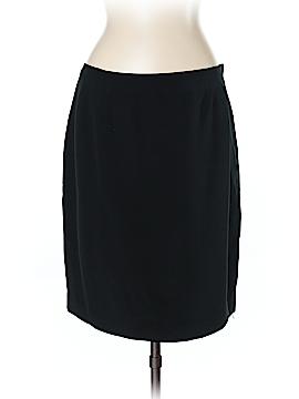 Linda Allard Ellen Tracy Silk Skirt Size 16