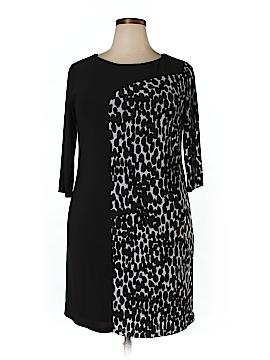 Lucie Lu Casual Dress Size 0X (Plus)