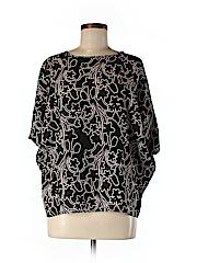 Lord & Taylor Women Short Sleeve Blouse Size M (Petite)