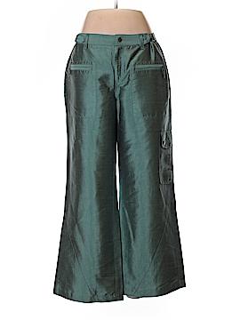 Nic + Zoe Silk Pants Size 8