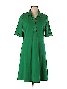 Lands' End Casual Dress Size Lg/P(14-16)