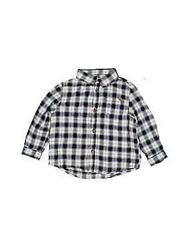 Zara Long Sleeve Button-Down Shirt Size 12