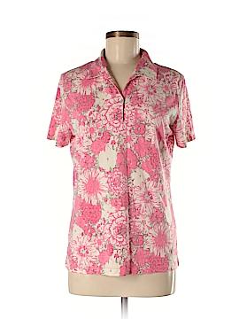 Cutter & Buck Short Sleeve Silk Top Size L