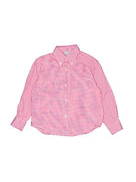 Papo d'Anjo Long Sleeve Button-Down Shirt Size 4