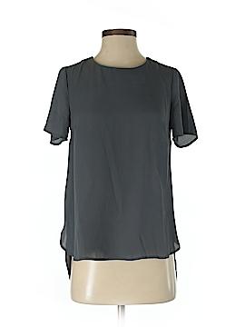 Pale Sky Short Sleeve Blouse Size XS