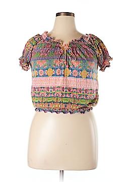 Belle Du Jour Short Sleeve Top Size XL