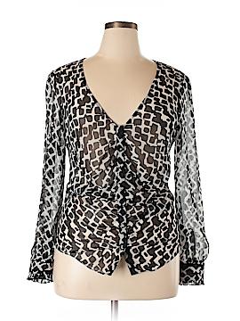 New York & Company Long Sleeve Blouse Size 14
