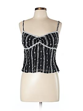 Rachelle Sleeveless Silk Top Size L