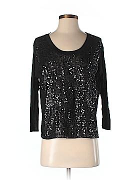 Barneys New York CO-OP 3/4 Sleeve Silk Top Size XS