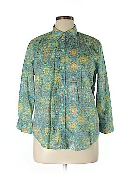 American Living Long Sleeve Button-Down Shirt Size XL