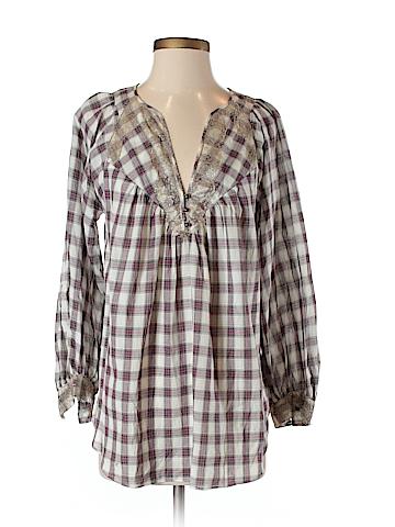 Rebecca Taylor 3/4 Sleeve Blouse Size 4